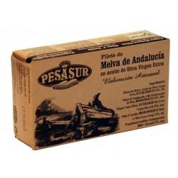 FILETES MELVA EN AOVE BIO 120 GR Pesasur