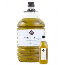 Aceite Oliva BIO Virgen Extra Dillar Pet 5 lt