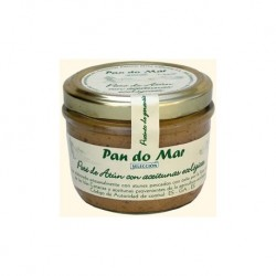 Pate de atun y aceitunas BIO 125 gr Pan do Mar