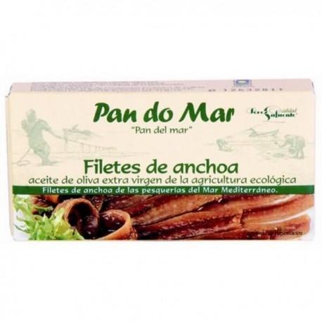 Filetes de anchoa en AOVE BIO 50 gr PAN DO MAR