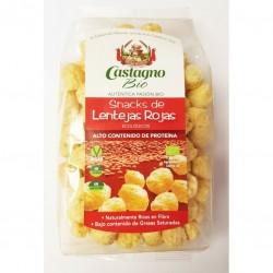 Bolitas maiz y lenteja roja BIO 50 gr Castagno