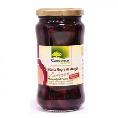 Aceituna Negra de Aragon BIO natural  350 gr