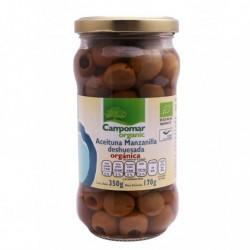 Aceituna manzanilla BIO deshuesada 350 gr