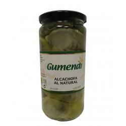 Alcachofas al natural BIO tarro cristal 400 gr Gumendi