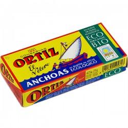 Filetes de anchoa en AOVE BIO 47,5 gr