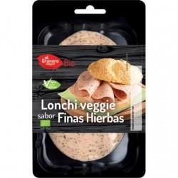 Lonchas veganas finas hierbas BIO 100 gr Granero Integral