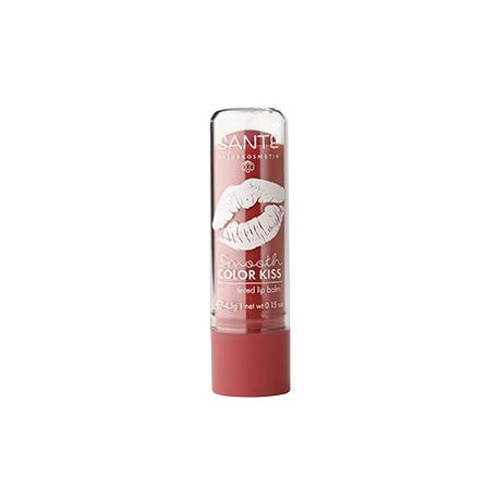BALSAMO LABIAL KISS 01 RED SOFT CORAL SANTE
