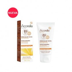 Crema facial color apricot BIO 50 ml Acorelle