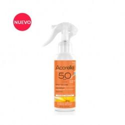 Spray solar niños SPF 50 BIO ECOCERT 150 ml Acorelle