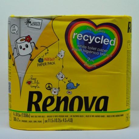 Papel Higiénico Recycled Sin plásticos