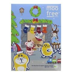 Calendario adviento chocolate BIO sin gluten y sin leche MOO FREE
