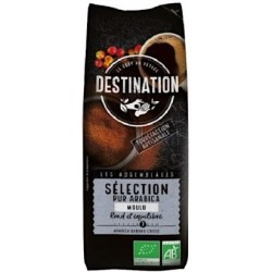 Café molido arábica selección BIO 1 kg DESTINATION Oferta