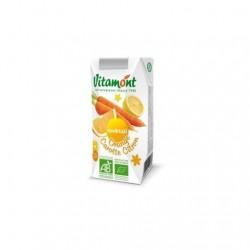 Zumo BIO naranja,limon y zanahoria 200 ml VITAMONT  Oferta