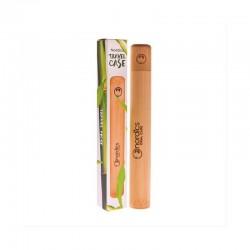 ESTUCHE VIAJE para cepillo dental bambu Nordics