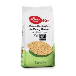 Copos Crujientes de Maiz y Quinoa BIO 350 grs.