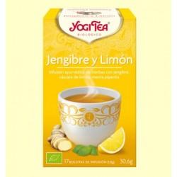 Yogi Tea BIO Detox con limón, 17 bolsitas