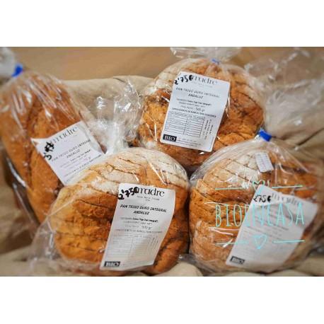 Hogaza trigo duro integral andaluz BIO con masa madre 750 gr, Maria Diezma