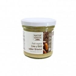 Paté lino y dátil BIO sabor oriental 130 gr,Naturgreen