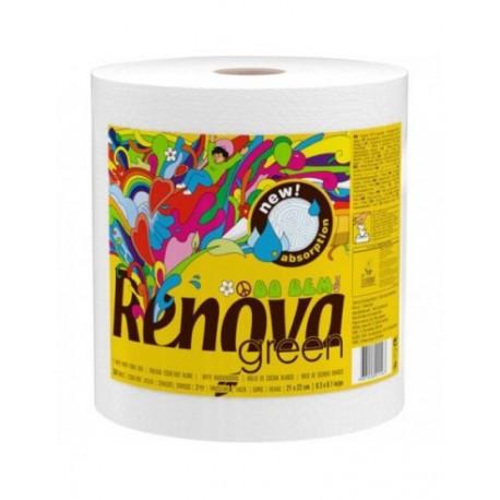 Rollo cocina giga-rollo ECOLABEL papel reciclado 345 servicios ,RENOVA