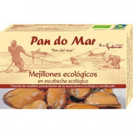 Mejillones en escabeche 115gr Pan do mar