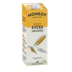 Bebida de avena calcio BIO Monsoy, 1 LT