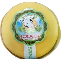 Queso gallego semicurado elaborado con leche de vaca ecologico pieza aprox. 500 gr