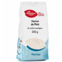HARINA DE MAIZ BIO, 500 grs. El Granero