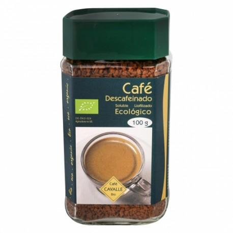 Cafe soluble BIO descafeinado