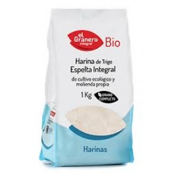 Harina Espelta Integral BIO 1 kg Granero Integral