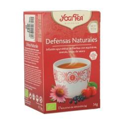 Yogi Tea BIO defensas naturales, 17 bolsitas