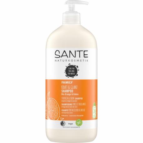 Champú tratante Bio de naranja y coco 950 ml Sante