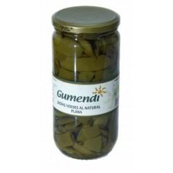 Judia verde plana BIO al natural 660 g Gumendi