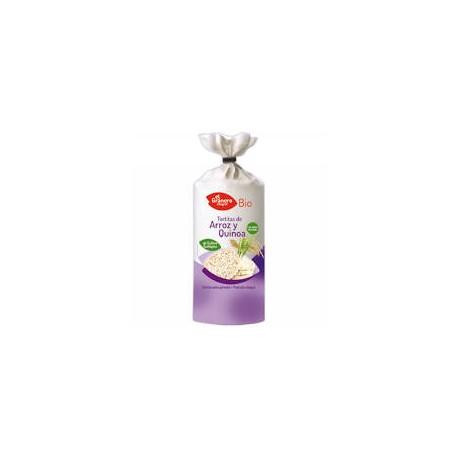 Tortitas de arroz y quinoa BIO, 120 gramos El Granero Integral