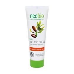 Crema antiedad 24h Argán y Ácido Hialuróico 50 ml. Neobio