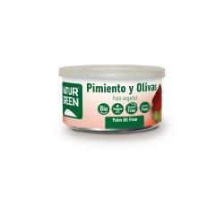 Pate pimiento y oliva BIO 125 grs. NATURGREEN