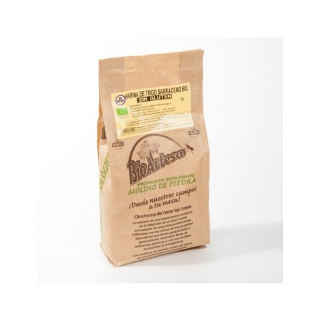 Harina trigo sarraceno BIO Sin Gluten,1 kg