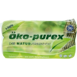 Papel Higiénico 8 rollos de 2 capas. OKO-PUREX