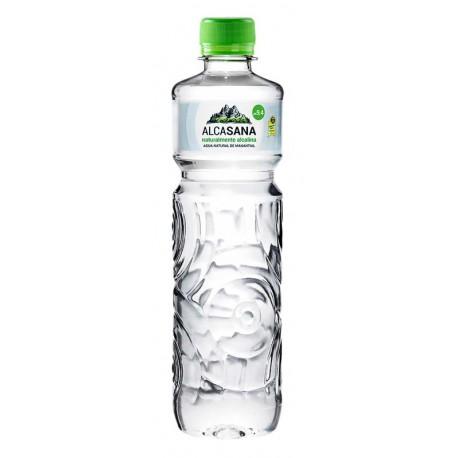 Agua de manantial natural alcalina 1 litro. ALCASANA
