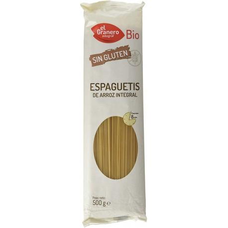 Espaguettis de arroz BIO 500 gr