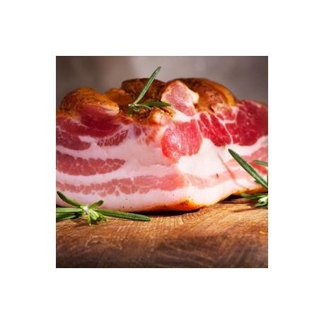 Bacon ECO sin gluten, sin lactosa, precio 100 grs. Pieza 500 grs. aprox. POR ENCARGO