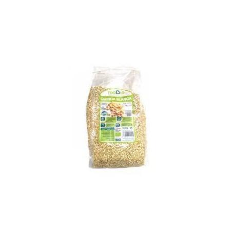 Quinoa blanca BIO sin gluten, 400 grs. Toobio