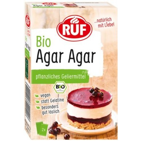 Agar agar en polvo BIO Vegano 2 x 15 grs. RUF