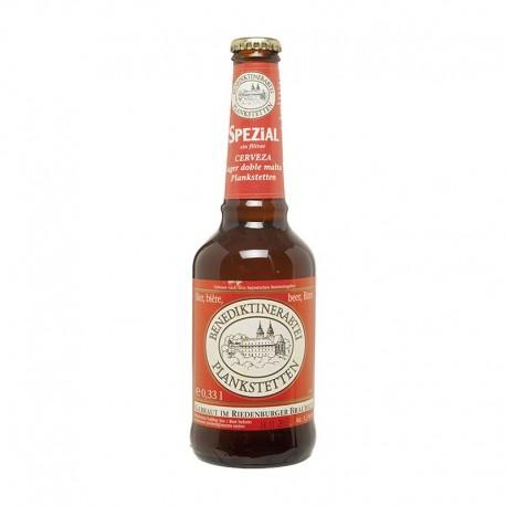 Cerveza doble malta spezial B. Plankstetten 33 cl