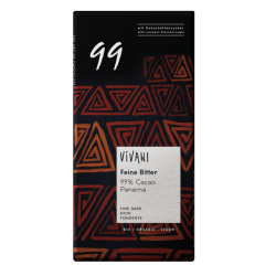 Chocolate BIO  Vegano 99% Cacao 80gr