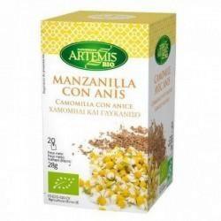 Infusion Manzanilla con anís BIO 20 bolsitas Artemis