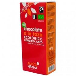 Chocolate a la taza BIO 350 gr Comercio Justo Alternativa3