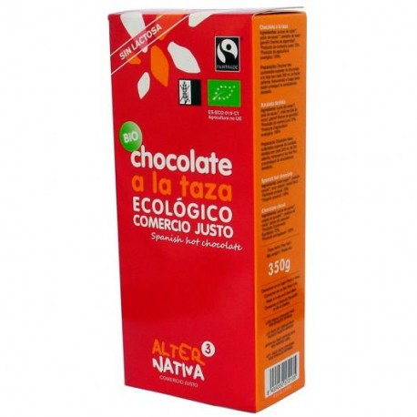 Chocolate a la taza BIO 350 gr Comercio Justo Alternativa3