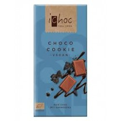 Chocolate BIO  Vegano con Cookies 80gr