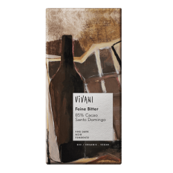 Chocolate BIO  Vegano 85% Cacao Santo Domingo 100