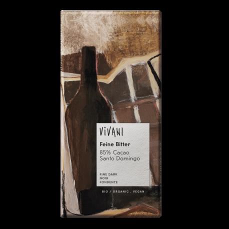 Chocolate BIO  Vegano 85% Cacao Santo Domingo 100